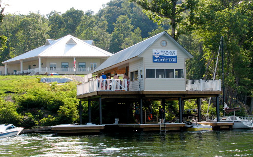 Claytor lake adventure base portfolio balzer and associates - The scouts tiny house ...